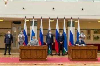 Власти Свердловской области подписали соглашение с РЖД о создании железнодорожной инфраструктуры в «Титановой долине»