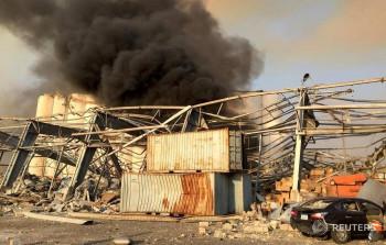 В порту Бейрута произошёл взрыв, пострадали сотни человек (ВИДЕО)