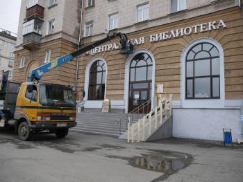 Две «сталинки» в центре Нижнего Тагила украсят архитектурной подсветкой