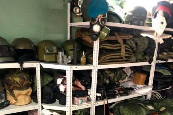 В Екатеринбурге ФСБ пресекла контрабанду военной экипировки