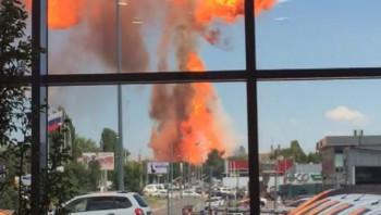 В Волгограде при взрыве цистерны с газом пострадали 8 человек (ВИДЕО)