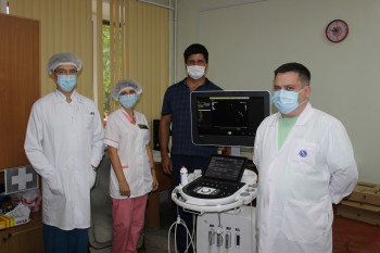 В Нижнем Тагиле в больницу № 4 на Тагилстрое поступило современное оборудование для диагностики сердечно-сосудистых заболеваний
