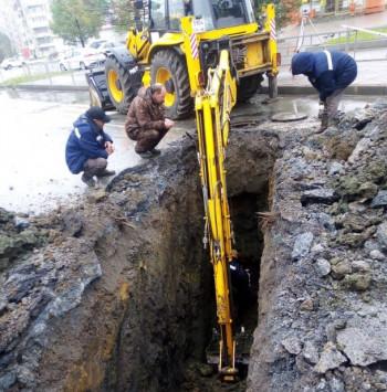 Из-за дождей восстановление трамвайного и автомобильного движения на Вагонке серьёзно затягивается