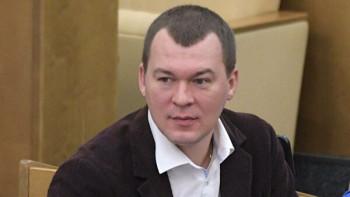Врио главы Хабаровского края Михаил Дегтярёв не обнародовал сведения о доходах