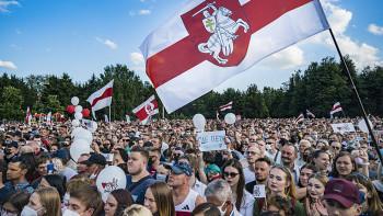Белорусское госинформагентство опубликовало ролик о протестах в стране