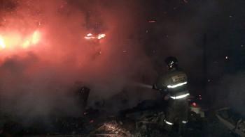 В саду под Невьянском девятилетний мальчик сгорел на пожаре в день своего рождения