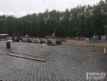 В Нижнем Тагиле реконструкция мемориала воинской славы завершится в сентябре