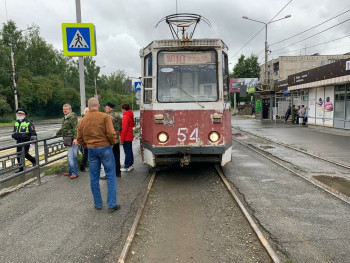 В Нижнем Тагиле трамвай сбил пенсионерку