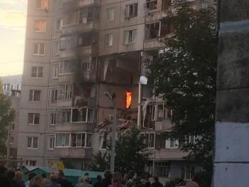 В Ярославле из-за взрыва газа обрушились три этажа жилого дома