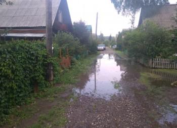 В садах под Нижним Тагилом снизился уровень паводковых вод (ВИДЕО)