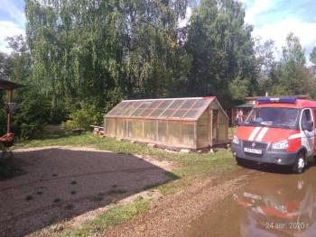 В Нижнем Тагиле затопленными после затяжных дождей остаются лишь два садовых участка