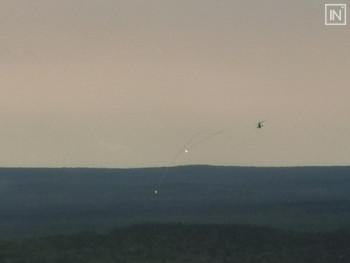 Назападной окраине Екатеринбурга заметили вертолёты и истребители