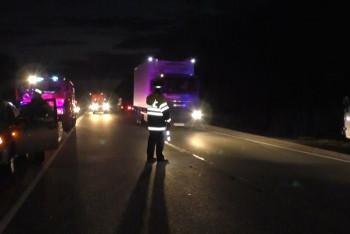 НаТюменском тракте вДТП сгрузовиком погиб мужчина