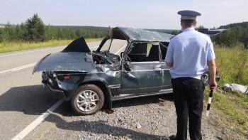 Под Невьянском пьяный водитель устроил ДТП, в котором погиб его пассажир