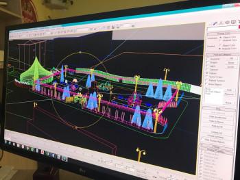 В Нижнем Тагиле представили эскизы проекта ледового городка 2021 года