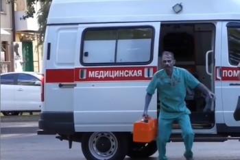 В Ростове-на-Дону полиция начала поиски фельдшера, устроившего пранк в образе зомби (ВИДЕО)