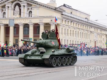 В Нижнем Тагиле в сентябрьском параде в честь победы в Великой Отечественной войне примут участие почти 30 единиц военной техники