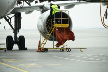 ВКольцово аварийно сел грузовой самолёт