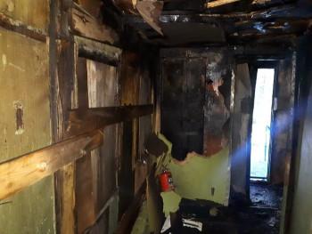 В Нижнем Тагиле за сутки сгорели два дома, автомобиль и строительный вагончик