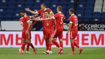 Сборная России по футболу победила команду Венгрии в Лиге наций УЕФА