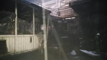 Назаводе в Каменске-Уральском загорелся стан