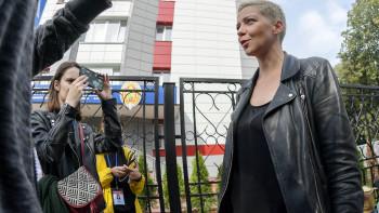 Марию Колесникову арестовали и отправили в минский СИЗО