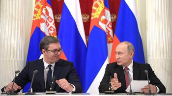 Путин извинился перед президентом Сербии запост Захаровой скадром из«Основного инстинкта»