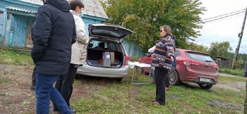 ВИркутской области голосование проводят вбагажнике машины
