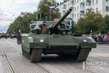 В Нижнем Тагиле прошёл парад военной техники в честь 75-летия Победы и 100-летия отечественного танкостроения (ФОТОРЕПОРТАЖ)