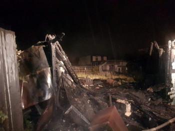 В пожаре под Нижним Тагилом погиб мужчина