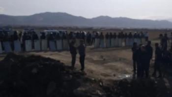 В пригороде Махачкалы произошли столкновения местных жителей с силовиками, есть пострадавшие