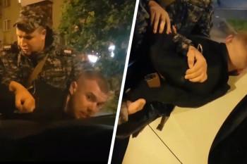 В Екатеринбурге задержали вооружённого мужчину, угрожавшего таксисту (ВИДЕО)
