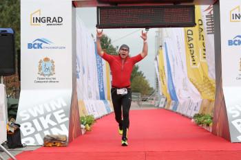 Руководитель центра «Мой бизнес» в Нижнем Тагиле Сергей Федореев принял участие в триатлонной гонке IRONSTAR на 113 км