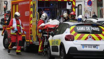 В Париже возле бывшей редакции Charlie Hebdo ранили четырёх человек