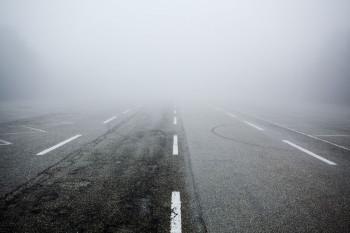 Из-за тумана ГИБДД просит водителей быть предельно внимательными