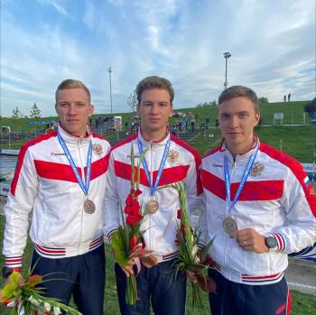 Тагильский слаломист Дмитрий Храмцов завоевал в составе сборной России золото на первенстве Европы