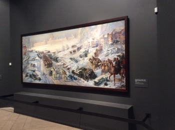 Картины из Нижнего Тагила выставляются на большой всероссийской выставке в «Манеже»