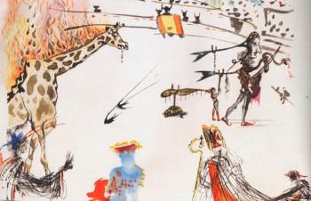 Картину Сальвадора Дали украли за 32 секунды из галереи в Сан-Франциско
