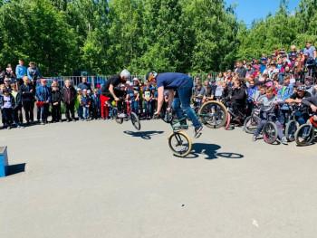 В парке Победы на ГГМ появилась новая скейт-площадка