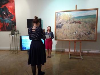 «Стихи в благодарность». Тагильчане читают в музее искусств стихи о войне
