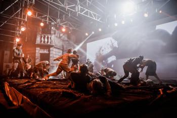 В День Победы в сквере Екатеринбурга покажут военный спектакль