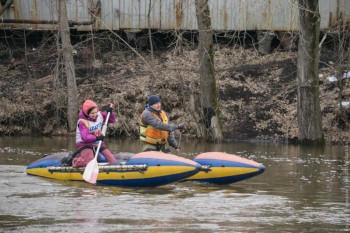 В начале апреля тагильчане смогут сплавиться по реке Тагил