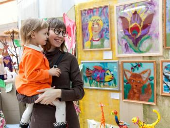 В Нижнем Тагиле открылась детская выставка технического и декоративно-прикладного творчества