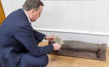 В приёмной мэра Владислава Пинаева установили музейный экспонат