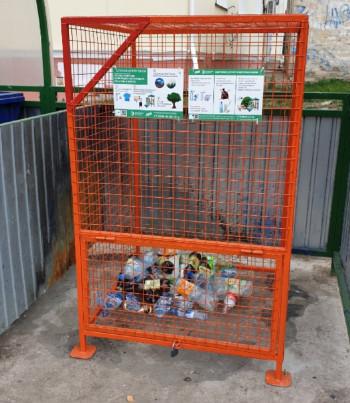 В Нижнем Тагиле начали установку контейнеров для раздельного сбора пластика