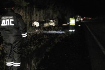 На Серовском тракте перевернулся Hyundai, есть погибшие