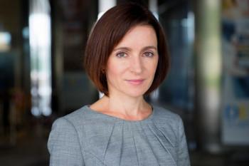 В Молдавии на выборах президента лидирует оппозиционный кандидат Майя Санду