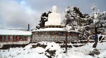 Лидер буддийской общины отказался покидать гору Качканар, на которой началась разработка месторождения