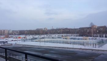«Корт будет самым идеальным в городе». К Новому году на катке в парке «Народный» сделают музыкальное и лазерное оформление