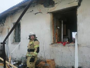 В частном доме под Нижним Тагилом при взрыве бытового газа пострадал человек